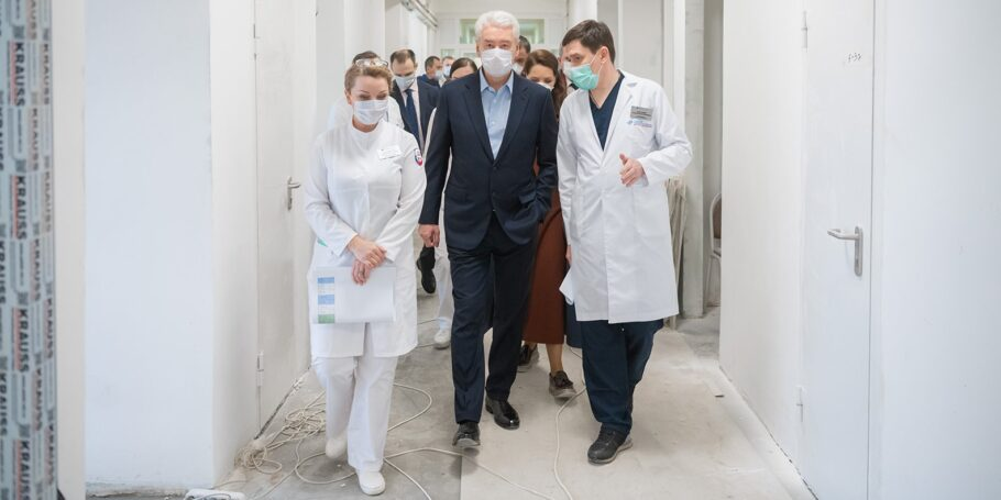 ГКБ им. С.И. Спасокукоцкого готовится к приему пациентов с коронавирусом