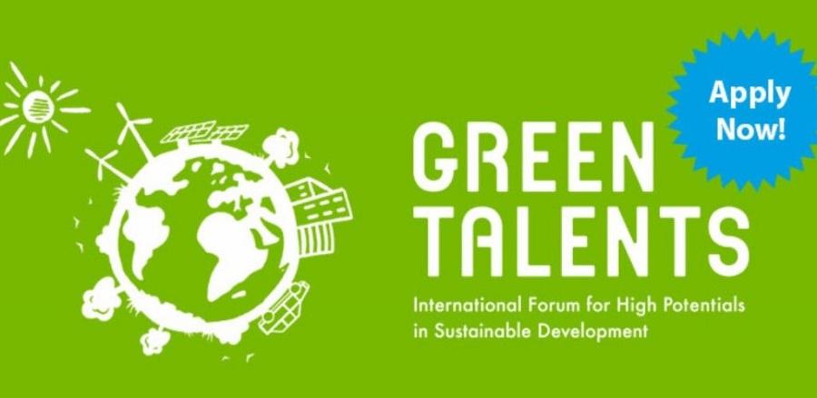 К участию в форуме «Green Talents award 2020» приглашают организаторы