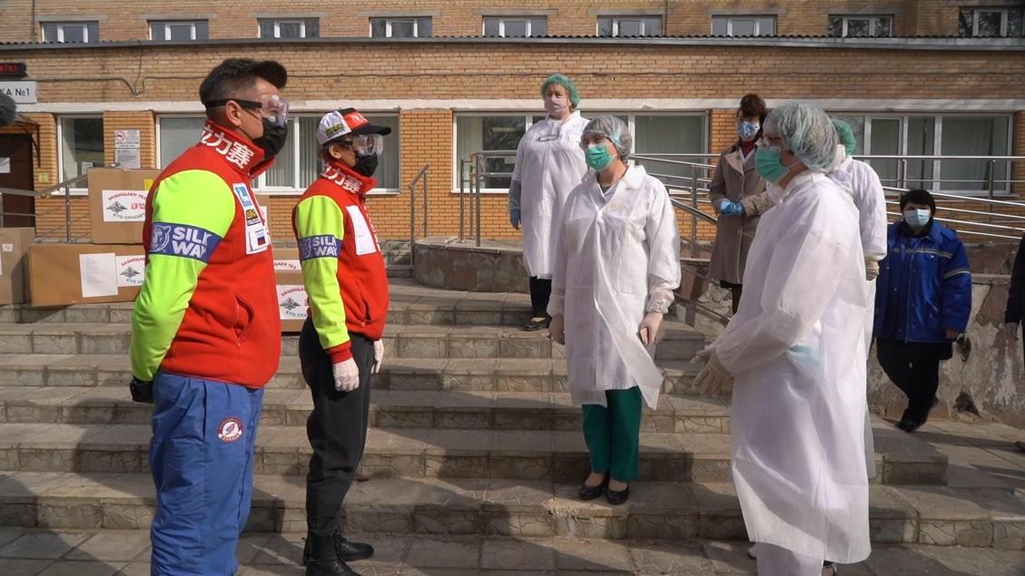 Ассоциация «Силквей ралли» доставила более 17 тысяч средств индивидуальной защиты врачам в больницы Москвы и Подмосковья