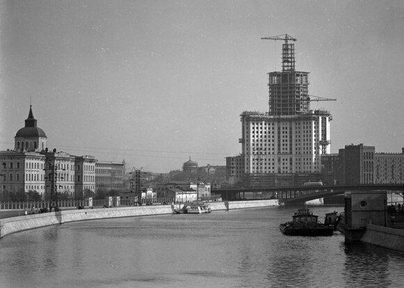 В проекте #Москвастобой опубликовали архивные фото послевоенной Москвы