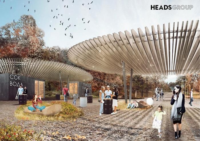 Победителем конкурса на лучшую концепцию благоустройства «Дворянки» и парка Победы названо бюро HEADS Group