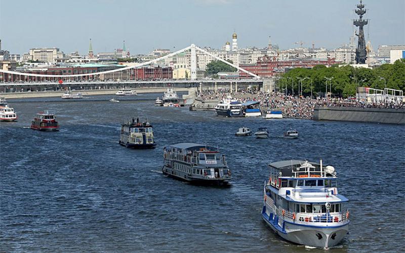 На Москве-реке пройдет парад судов