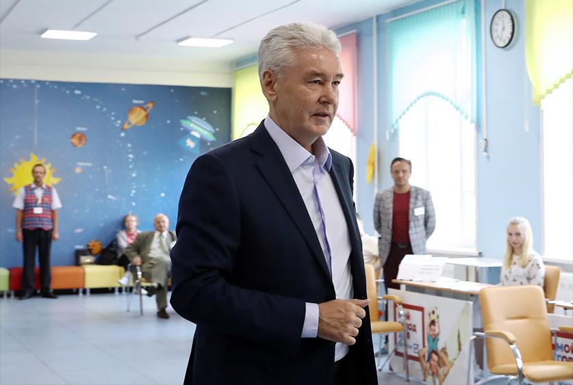 Москвичи сделали однозначный выбор – Сергей Собянин