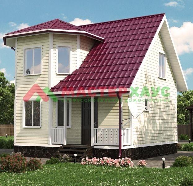 Строительство деревянных домов от компании Мастер Хаус