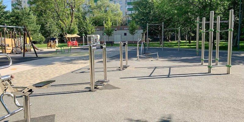 В столичных парках оборудовано более 90 спортивных площадок