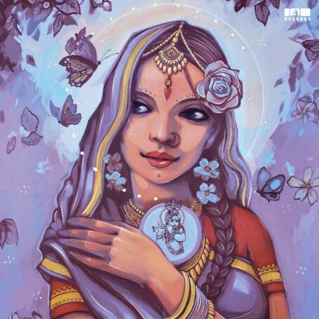 Обложку нового трека артистки Padmarani создал известный болгарский художник Насимо