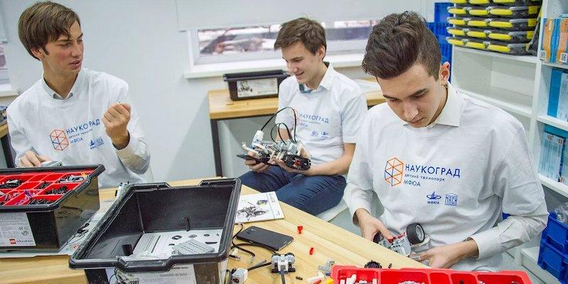 В столичных детских технопарках «Наукоград», «Калибр» и «На Зорге» пройдут дни открытых дверей