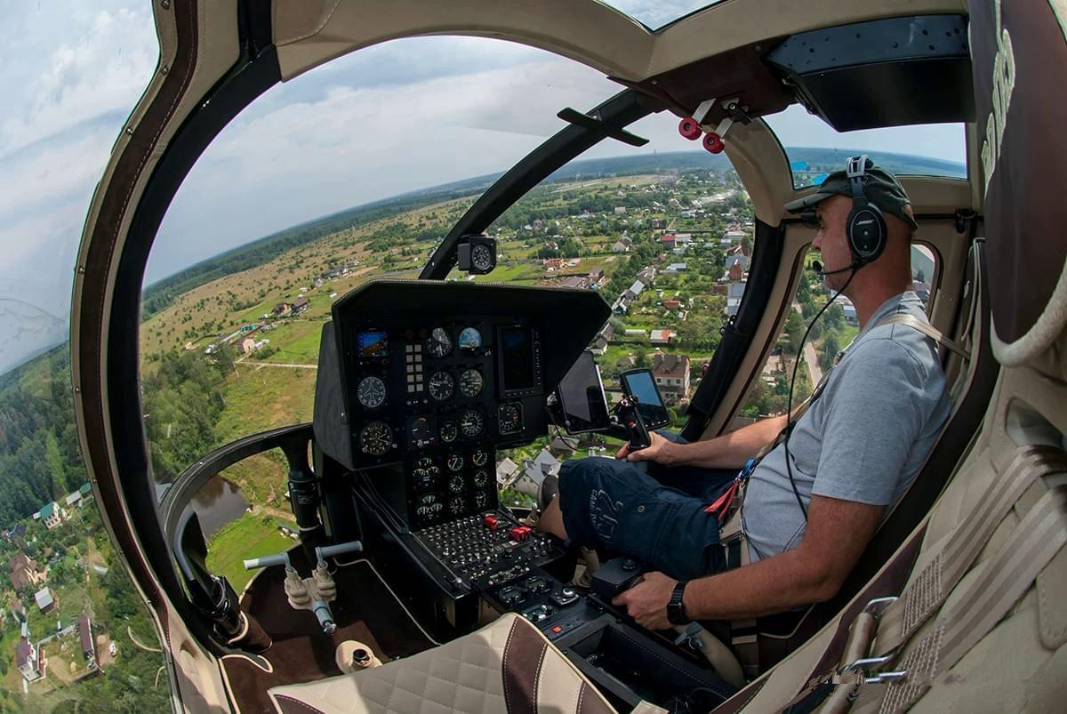 Вертолет сближает регионы