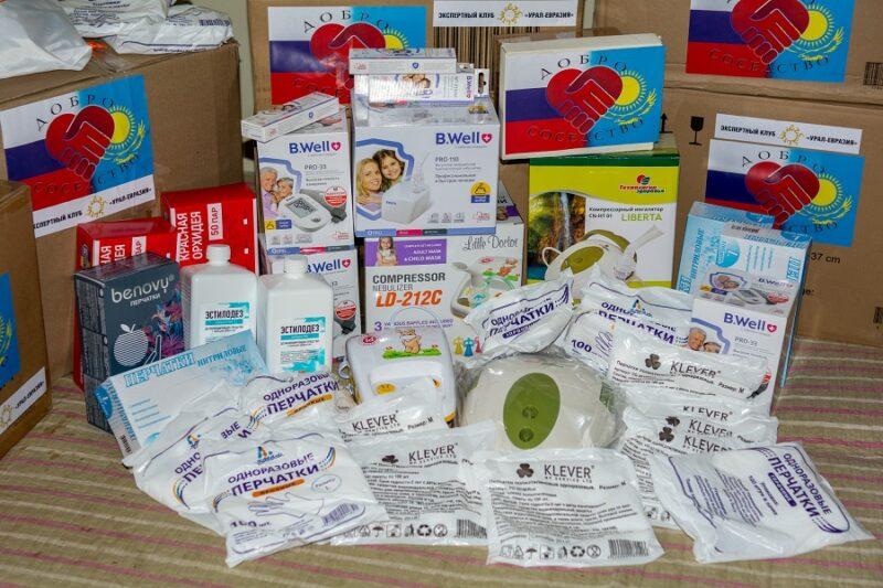 «Добро-Соседство»: В Павлодар прибыла гуманитарная помощь из Екатеринбурга