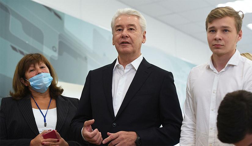 Сергей Собянин поздравил москвичей с Днем города