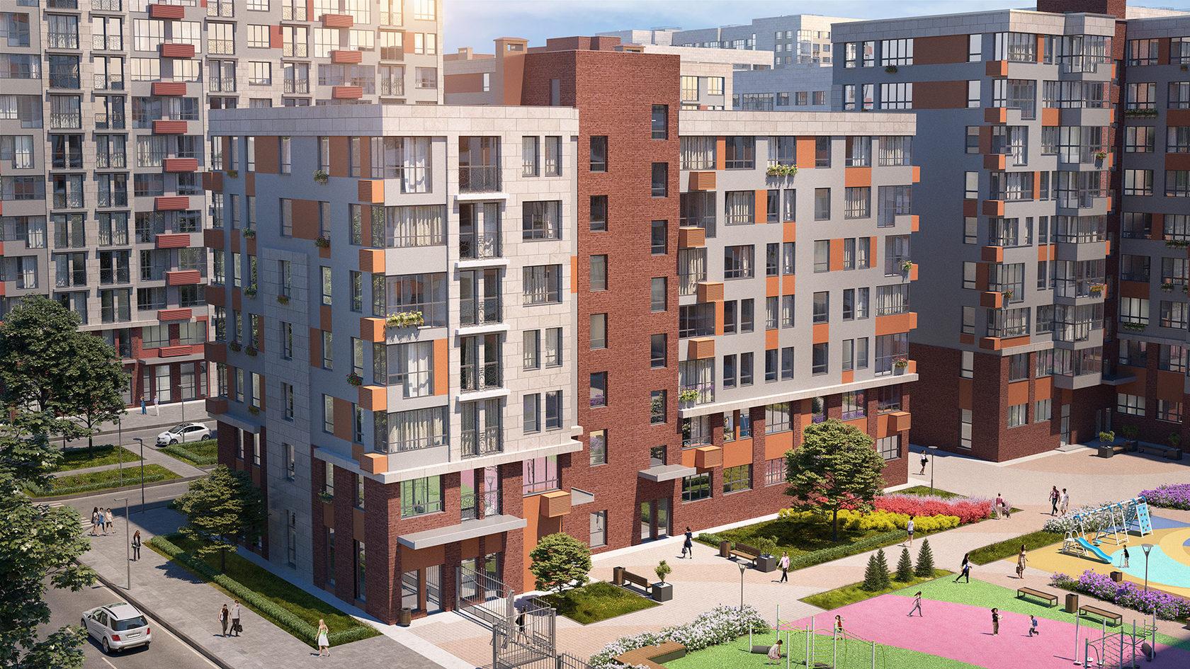 Более 200 ключей от квартир в жилом комплексе «Испанские кварталы» выдала ГК «А101»