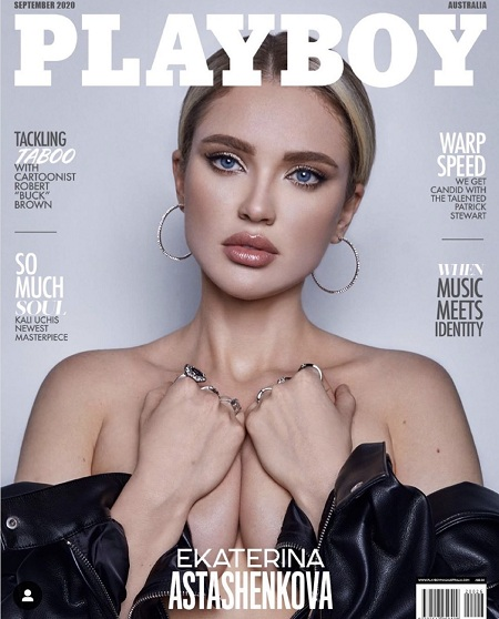 Сентябрьский номер австралийского Playboy украсит фото Екатерины Асташенковой