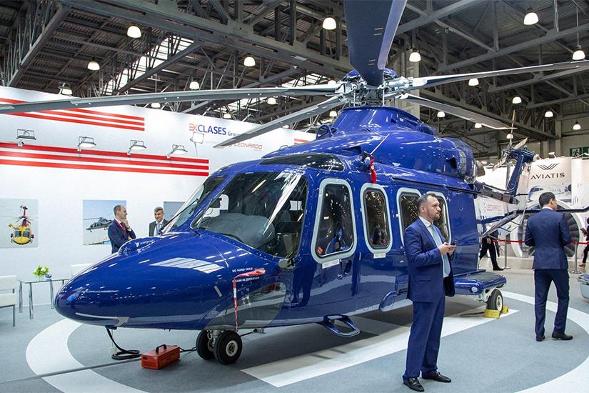 В Москве откроется вертолетный симпозиум HeliRussia-2020