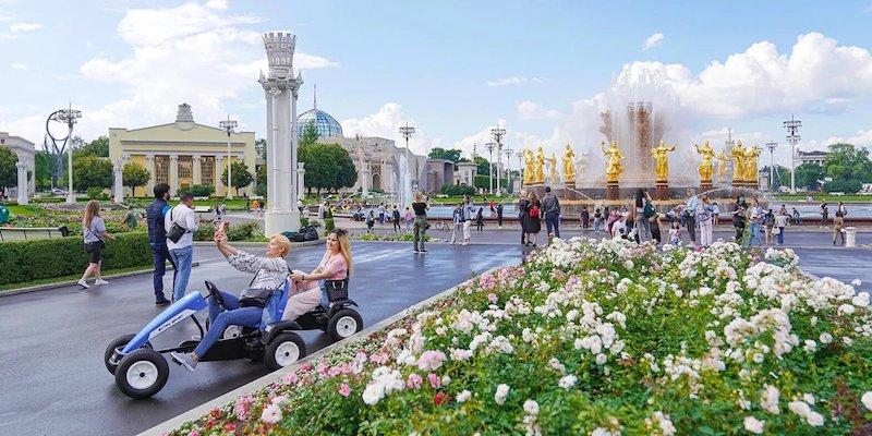 Наталья Сергунина подвела итоги летнего сезона на ВДНХ