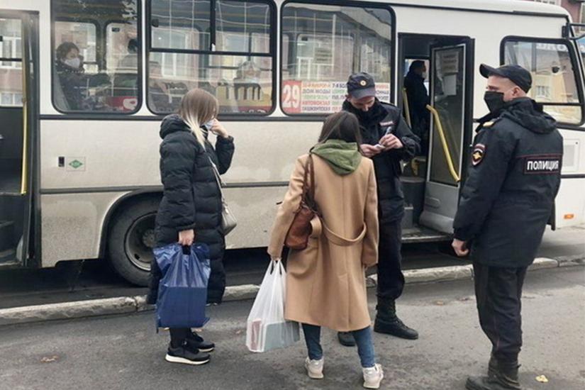 В Москве усилили меры эпидемического контроля в общественном транспорте