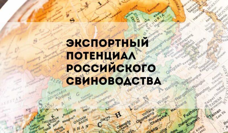 Открытие новых рынков сбыта способствует увеличению экспорта свинины в России