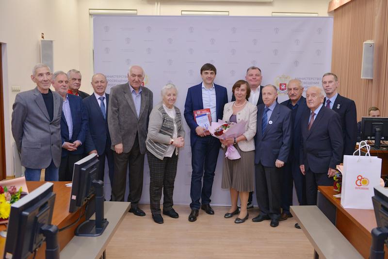 Сергей Кравцов наградил ветеранов профессионально-технического образования