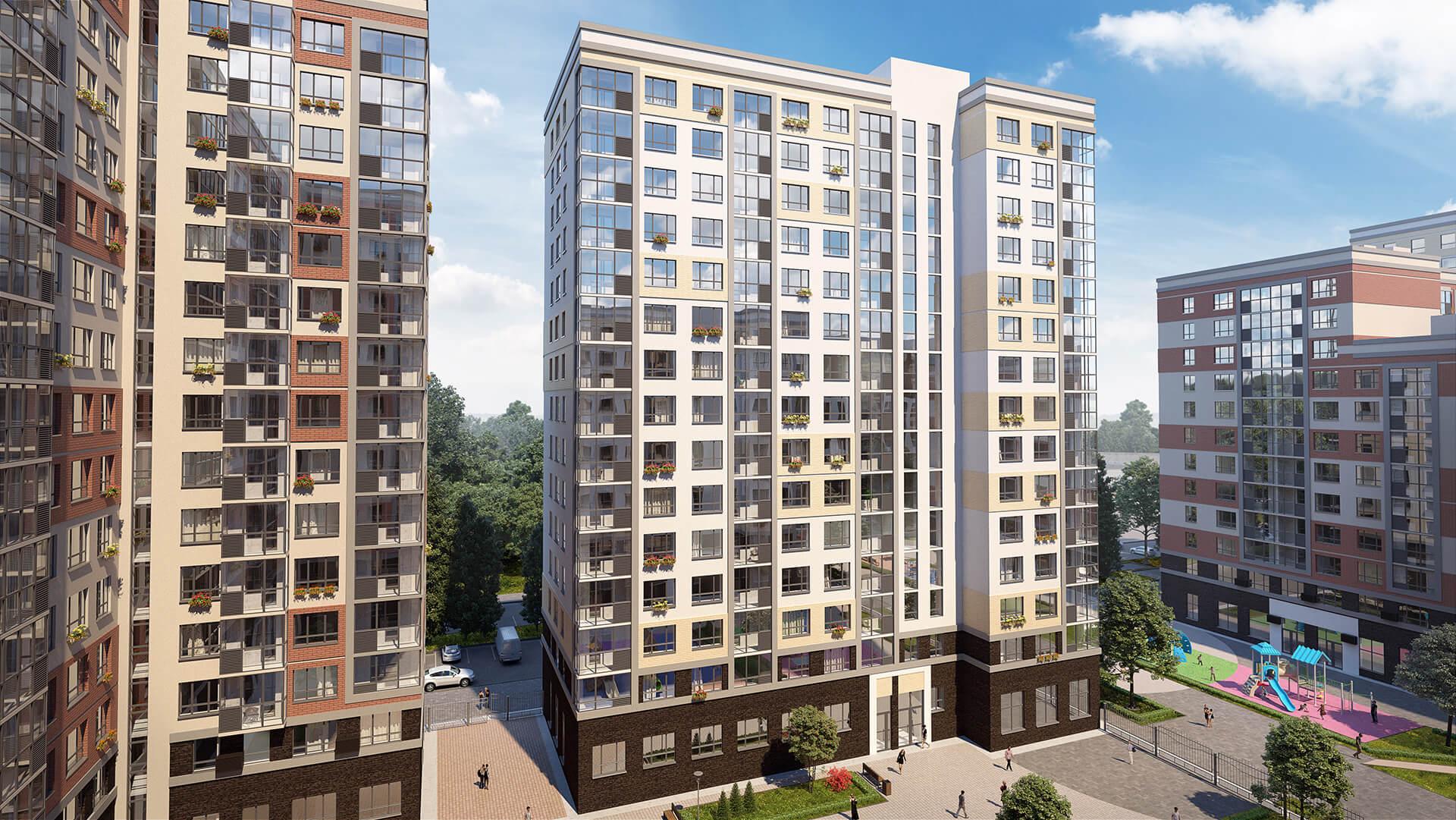 «А101» продала более 1000 квартир в ЖК «Прокшино» в новой Москве