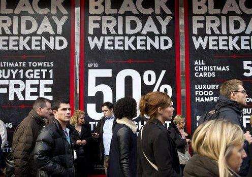 Американцы установили рекорд по затратам в «черную пятницу»