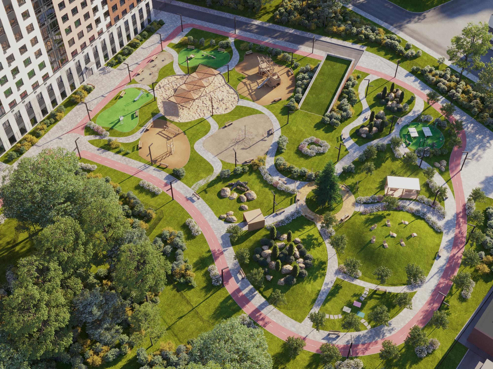 В современном квартале столицы Группа «Аквилон» начала продажи недвижимости в комплексе комфорт-класса