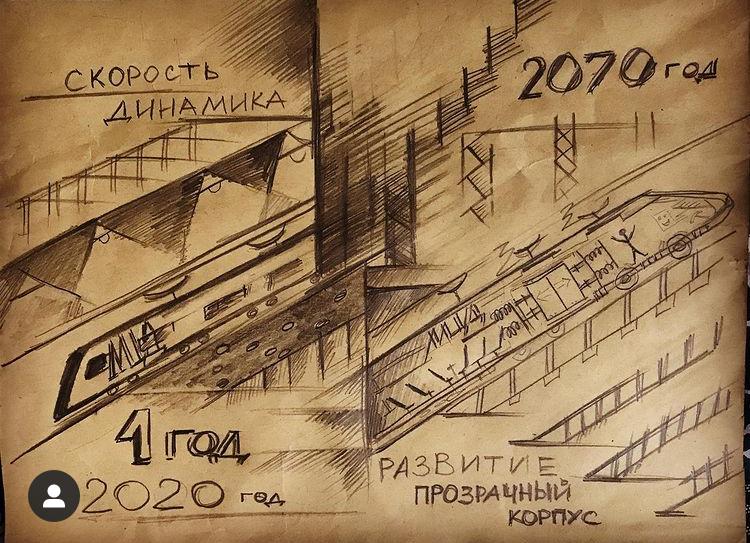 Станции Московских центральных диаметров украсили экраны с детскими рисунками