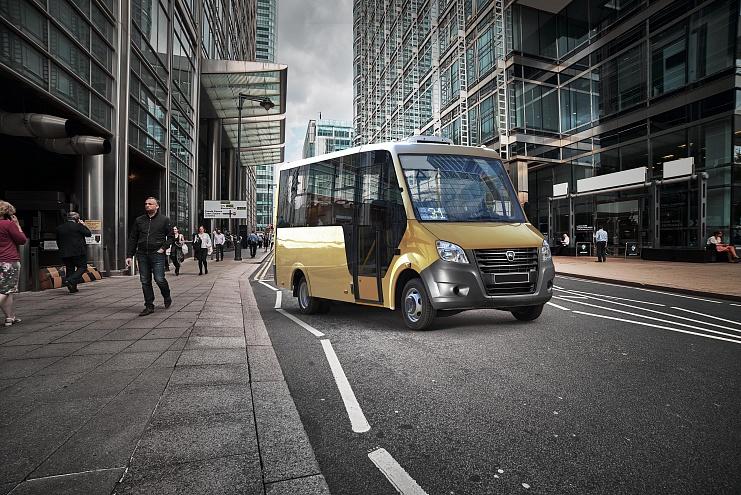 KAMA TYRES поставляет шины для автобуса «ГАЗель NEXT Citiline»