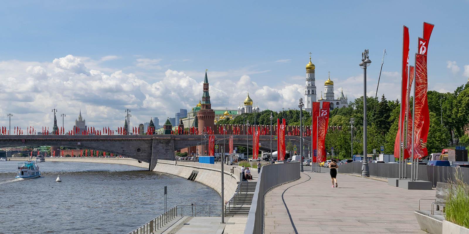 Наталья Сергунина рассказала о вручении Москве национальной премии «Победа»