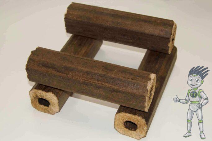Топливные брикеты решат проблему заготовки и хранения дров