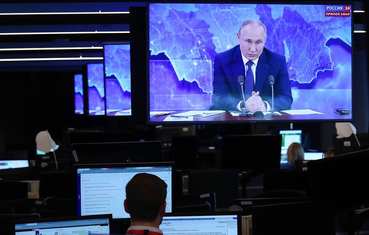 Владимир Путин провел предновогоднюю встречу с правительством
