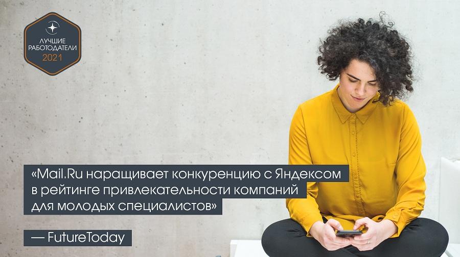 «Mail.Ru наращивает конкуренцию с Яндексом» — FutureToday