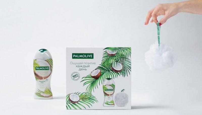 Подарок, который не стыдно подарить: агентство Repina branding разработало дизайн подарочных наборов для Palmolive