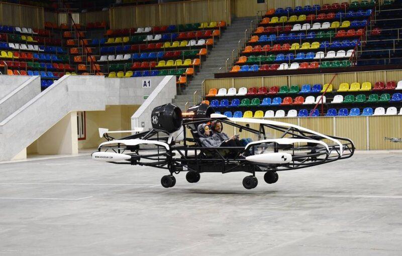 В Москве тестируют летающее такси, способное преодолевать до 100 км