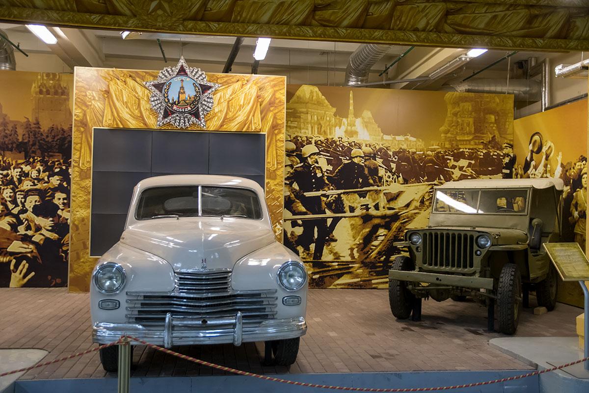«Моторы войны»: в День защитника Отечества Музей Победы откроет выставку уникальных автомобилей