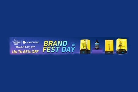 "На Aliexpress состоится промоакция ""Brand Fest"" компании Anycubic"