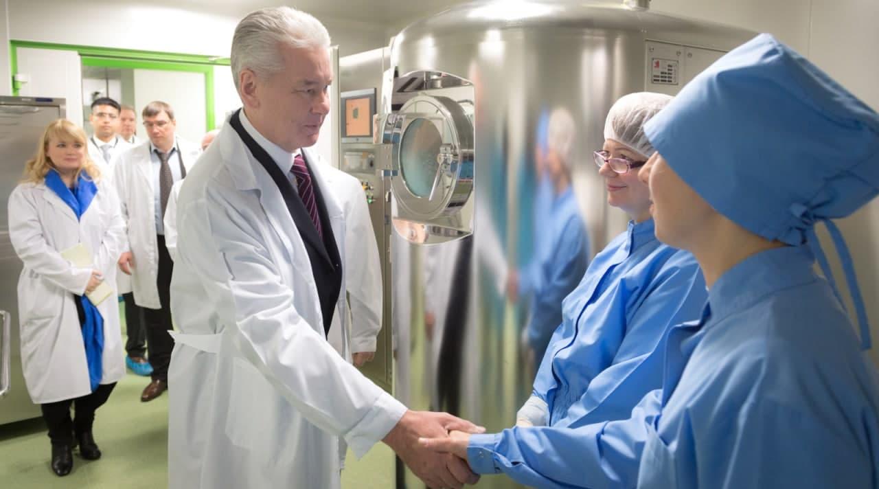 Собянин открыл гуманитарное производство медицинских изделий на базе ФГУП «ЦИТО»