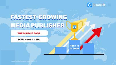 В версии индекса эффективности AppsFlyer за II полугодие 2020 г. первое место заняла SHAREit