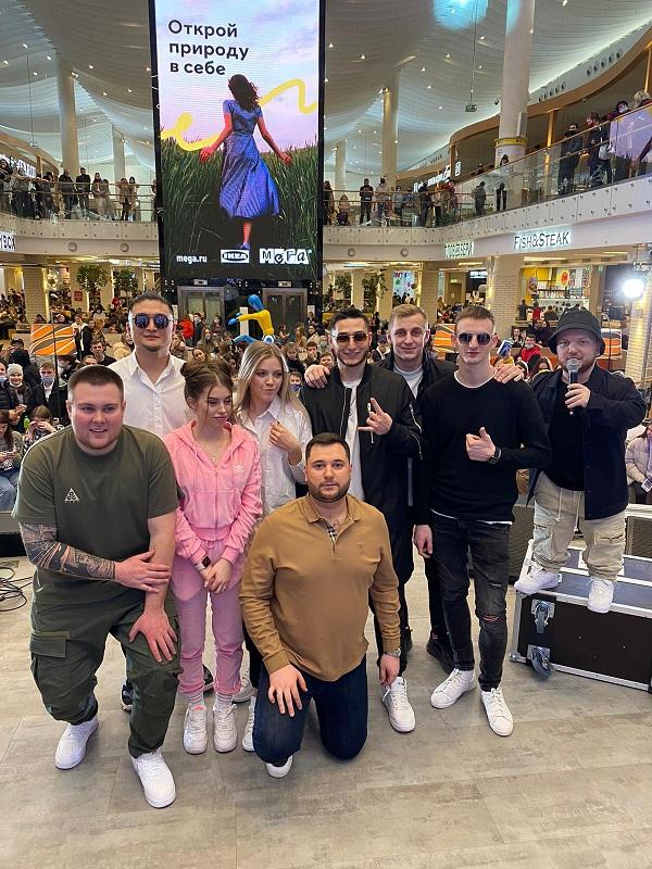 Фан-встречу и концерт в Казани провели  блогеры и музыканты проекта Insight People