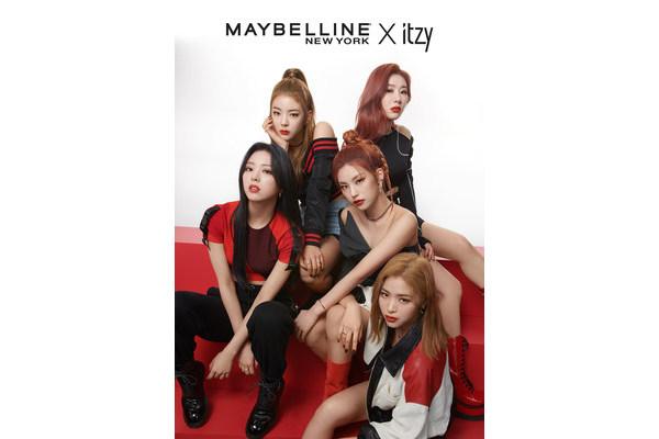 Участником всемирной рекламной кампании Maybelline New York становится группа ITZY