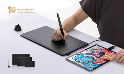 Три новых графических планшета серии Inspiroy выпустила компания Huion