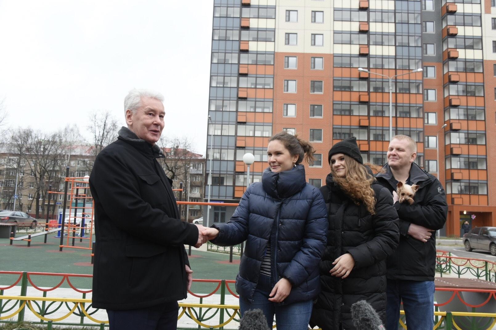 Собянин заявил о «крутой реновации» в Москве