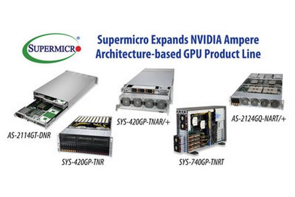 Supermicro в сотрудничестве с NVIDIA формирует полный ассортимент систем ГП и платформ