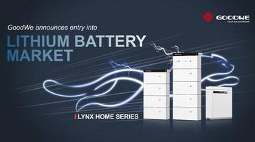 GoodWe выпустит новые аккумуляторные батареи серии Lynx Home