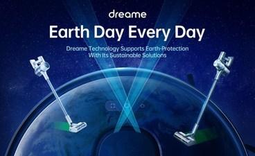 Dreame предлагает пылесосы со скидкой в поддержку Всемирного дня Земли