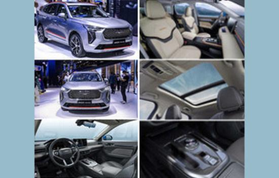 GWM познакомила посетителей Автосалона в Шанхае 2021 с HAVAL JOLION