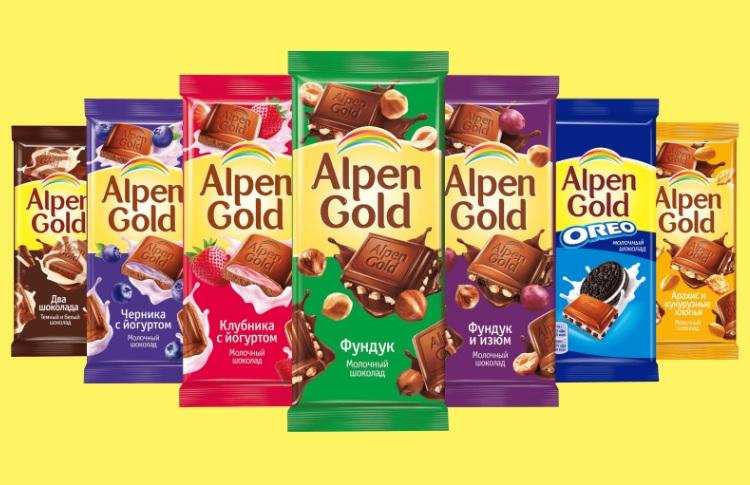 Яркий вкус открытий с обновлённым Alpen Gold