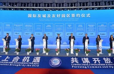 Состоялась церемония открытия Международной торгово-инвестиционной ярмарки ШОС-2021