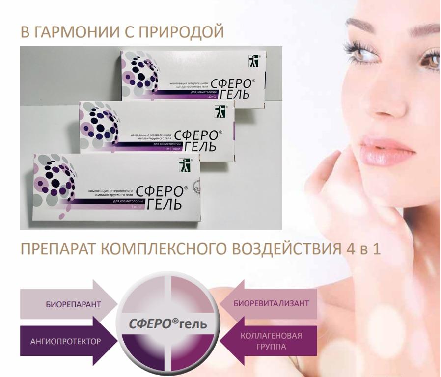 Сферогель — секрет посвященных в косметологию