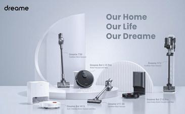 Компания Dreame продемонстрирует новые роботы-пылесосы