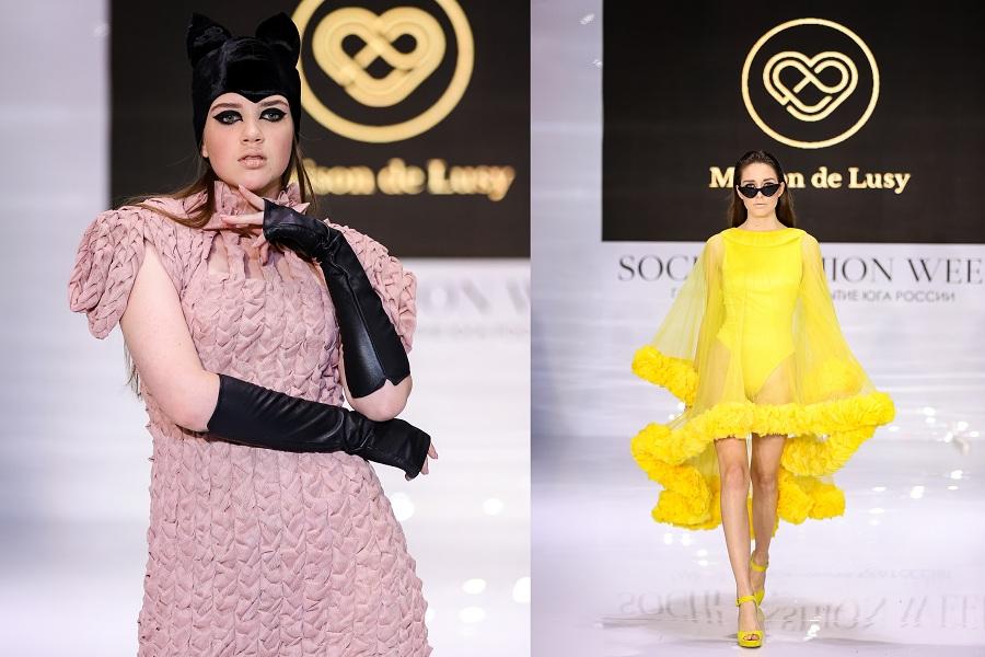 На Неделе моды в Сочи дизайнер бренда Maison de Lusy получила заказы от байеров