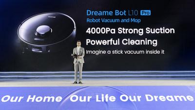 Потребители откликнулись на презентацию новой продукции Dreame Technology